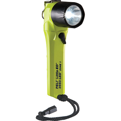 peli 3660z1 light yellow right angle zone 1 torch