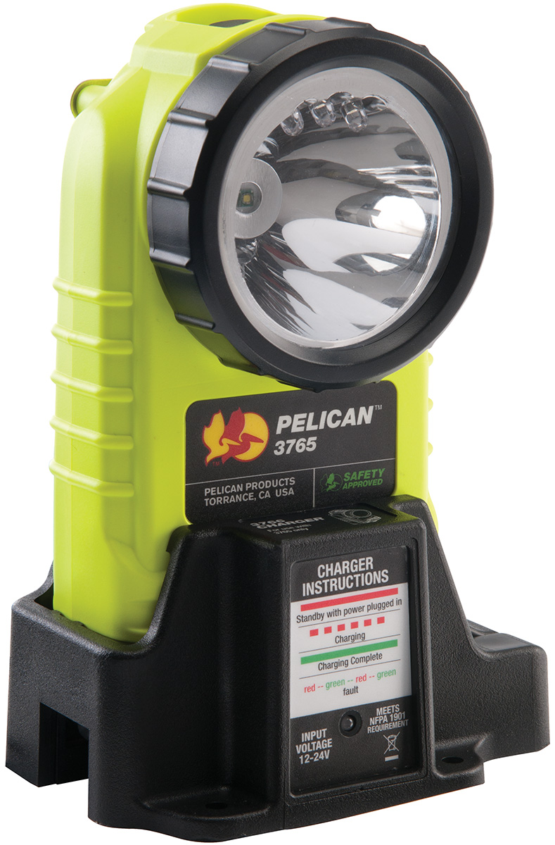 pelican led rechargable right angle light