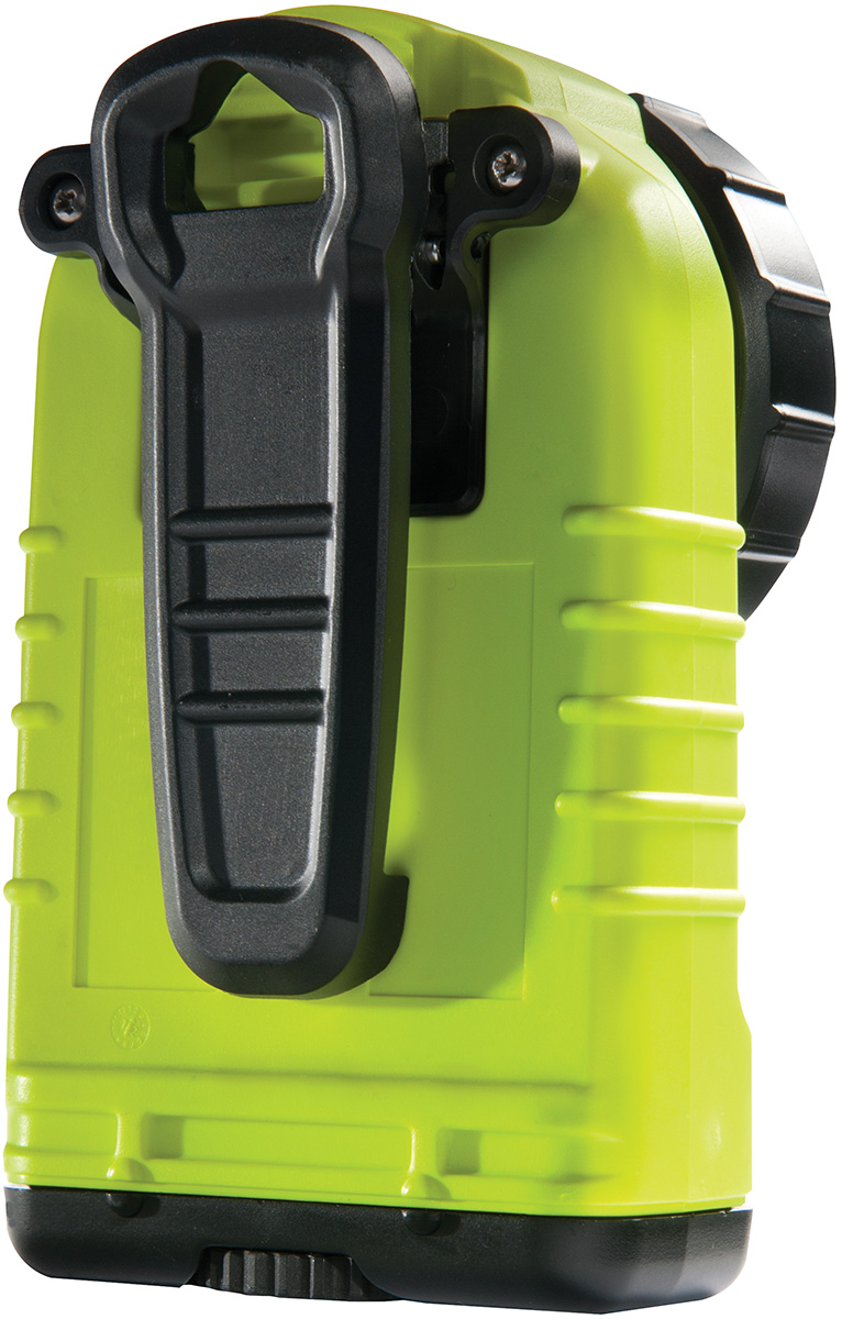 pelican safety clip on firefighter flashlight