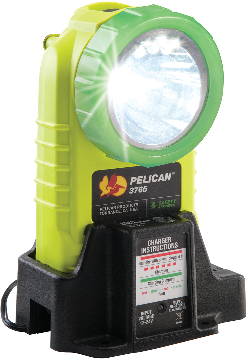 pelican peli products 3765PL glowing led rechargable angle light
