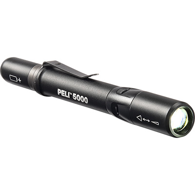 pelican 5000 compact clip on flashlight
