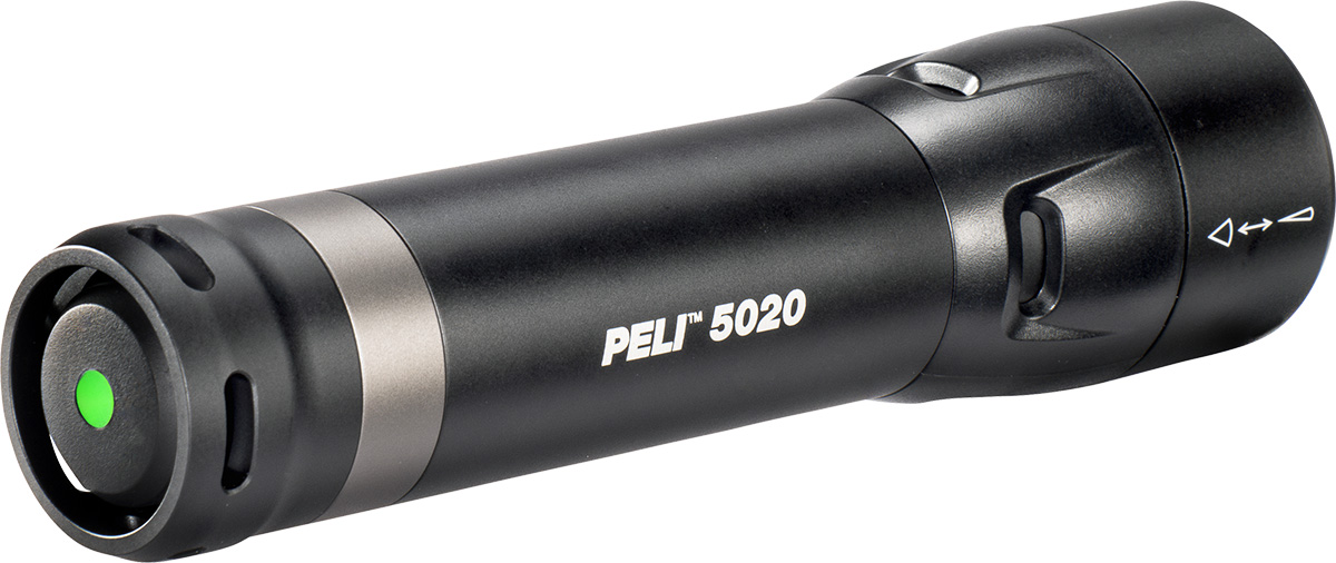 peli 5020 tactical police torch