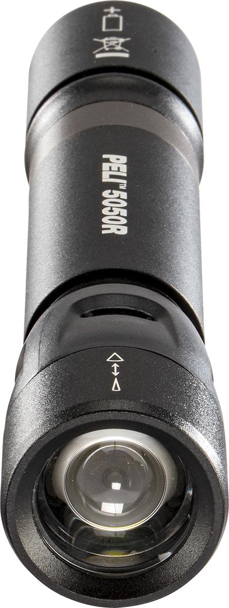 peli 5050r led torch high lumens off