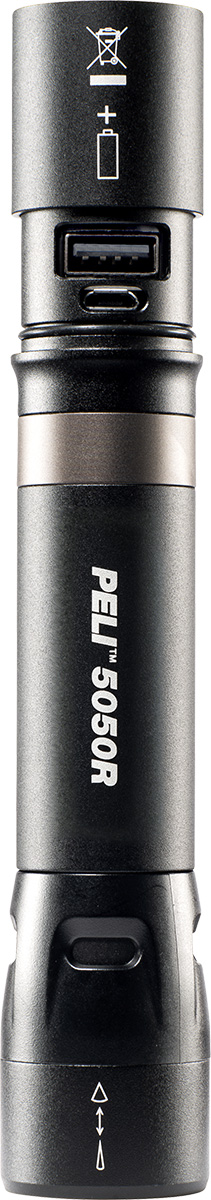 peli 5050r rechargeable bright led torch