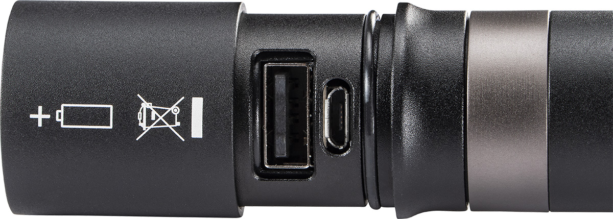 peli 5050r usb rechargeable torch