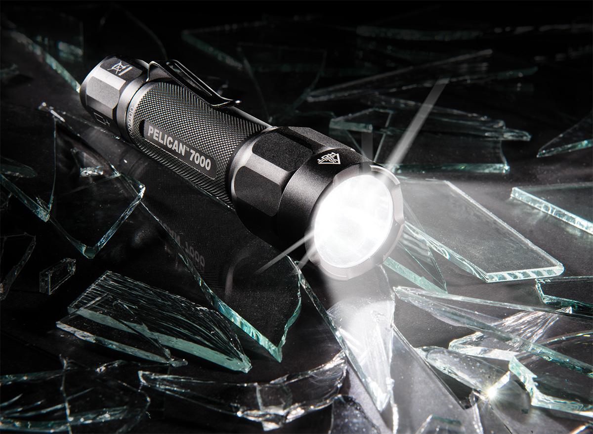 pelican 7000 hight lumens led tactical flashlight