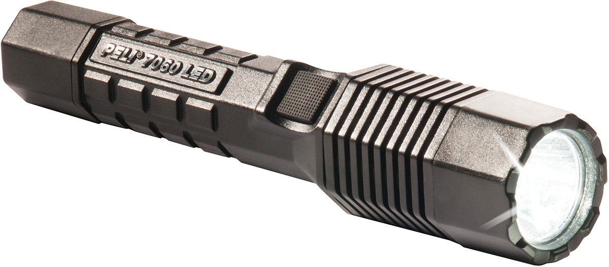 peli 7060 police led tactical torch