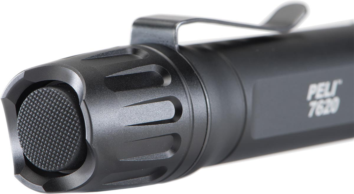 peli 7620 tactical flashlight button clip