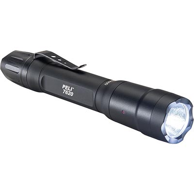 peli 7620 tactical police flashlight