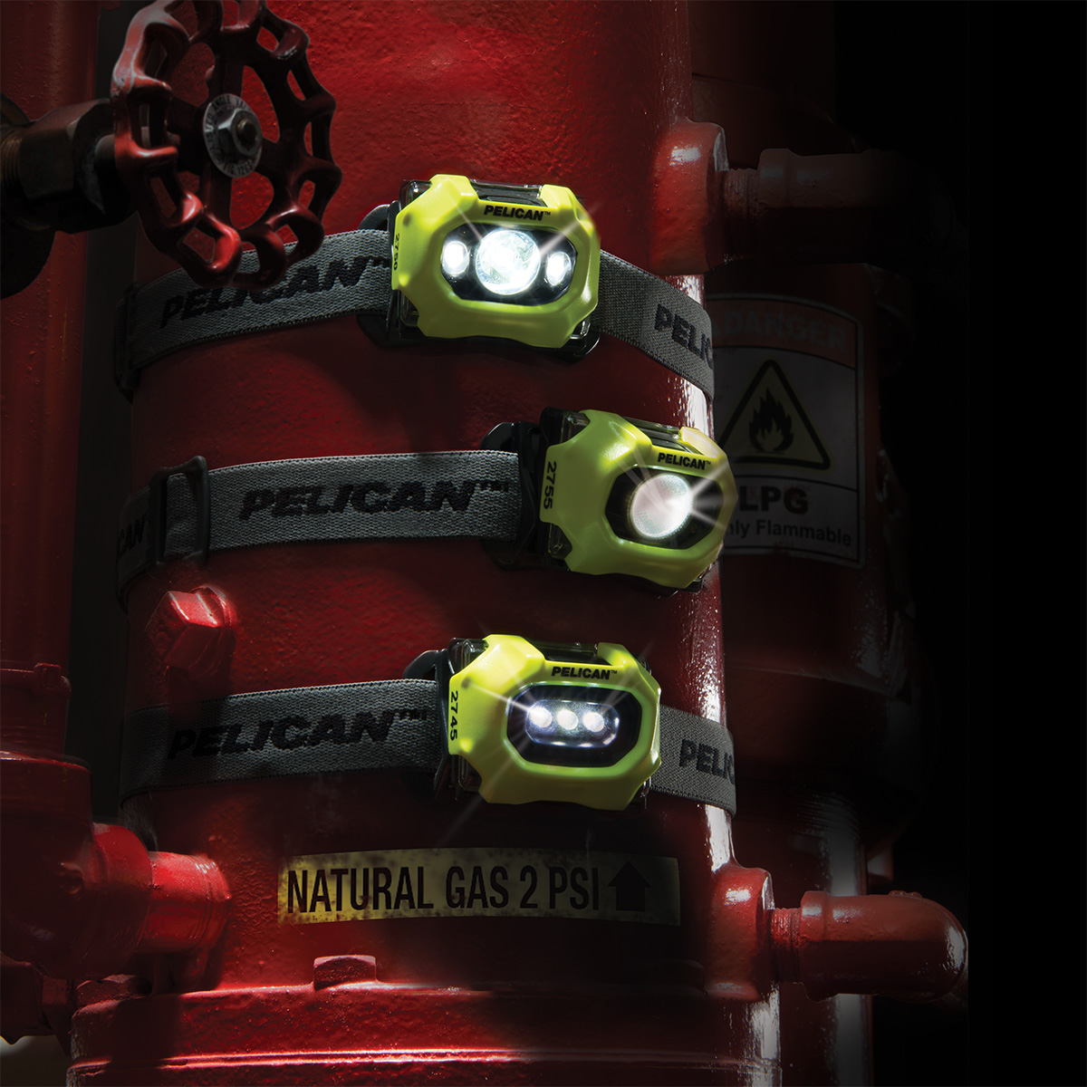 pelican safety rated approval led head light