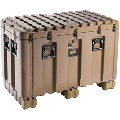 pelican peli products isp IS4521-2303 large hard pallet shipping case
