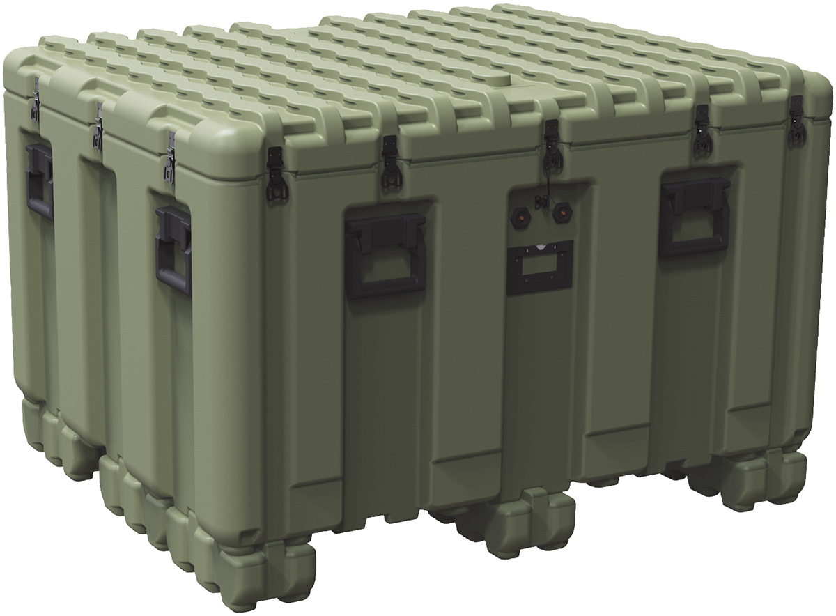 Pelican Peli Products Isp IS4537 2303 Large Plastic Shipping Pallet Box