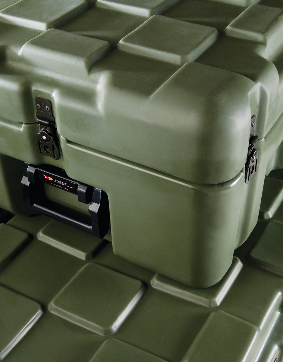 pelican peli products isp inter-stacking pattern hard cases