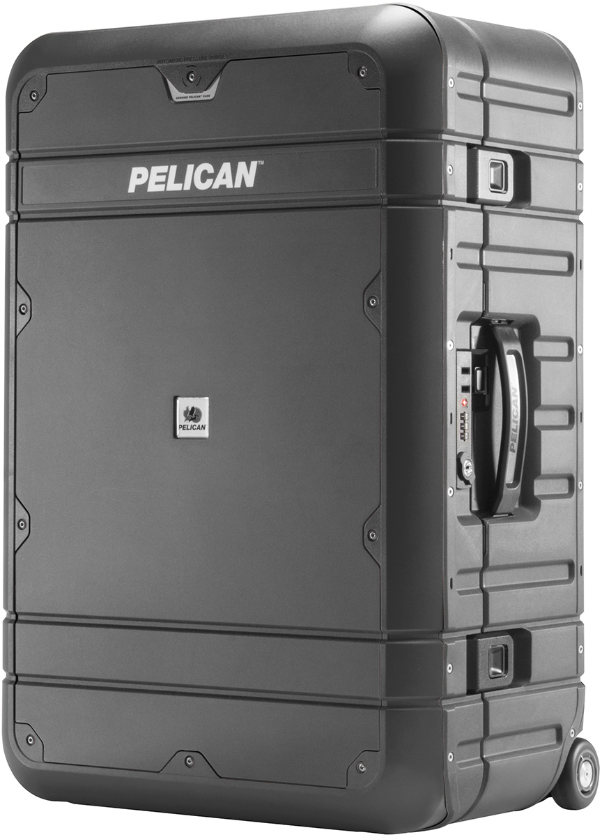 pelican peli products BA27 best strongest rolling hard luggage usa made
