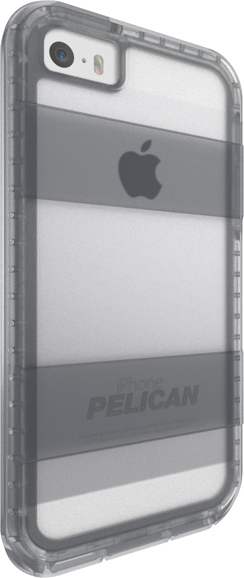 pelican voyager iphone 5 5s se phone case c01030 clear