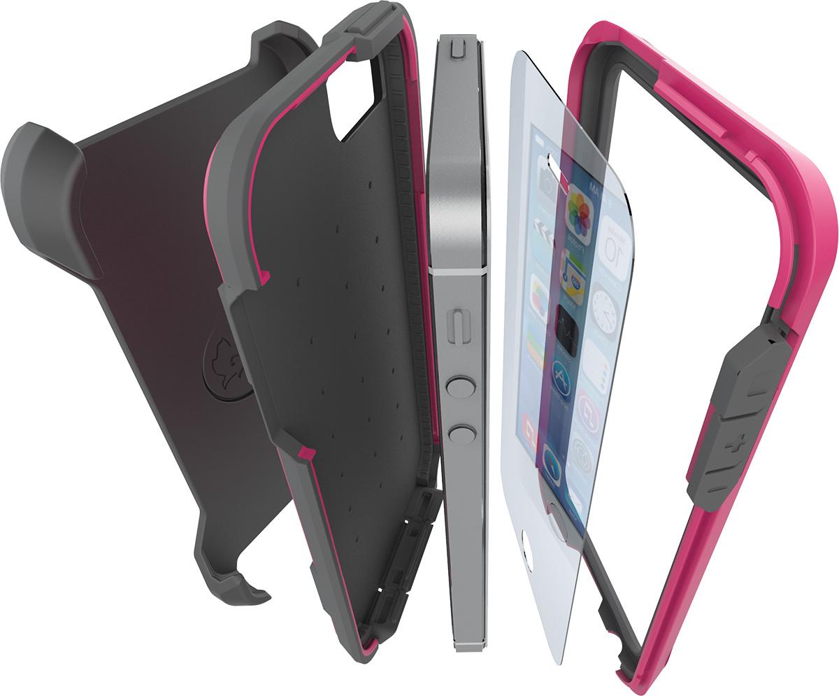 pelican voyager iphone 5 5s se case c01030 drop proof