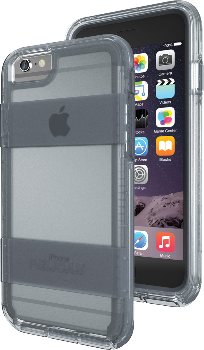 pelican voyager apple iphone 6 case c02030 clear