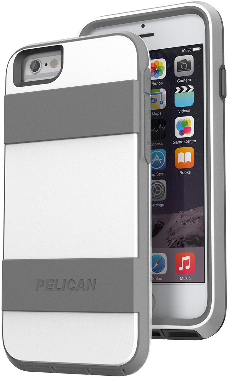 pelican voyager  apple iphone 6 6s case c02030 white