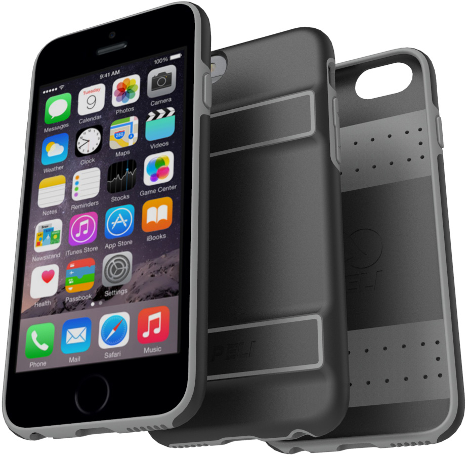 pelican peli products C02070 peli apple iphone 6s slim protective case