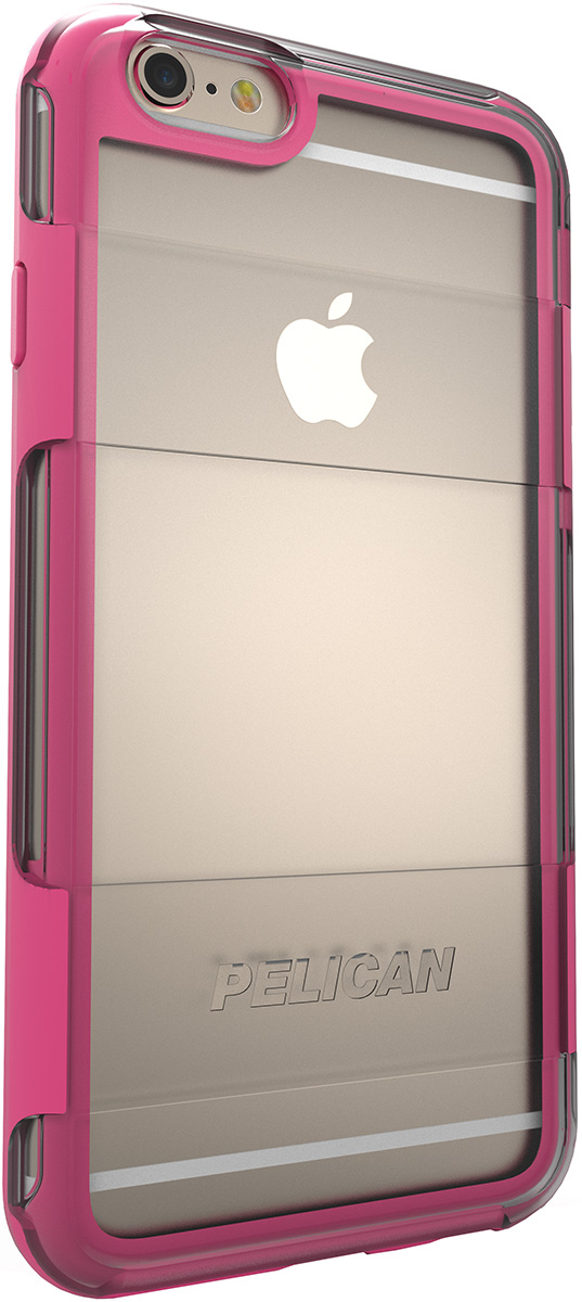 pelican adventurer apple iphone case c02100 clear pink