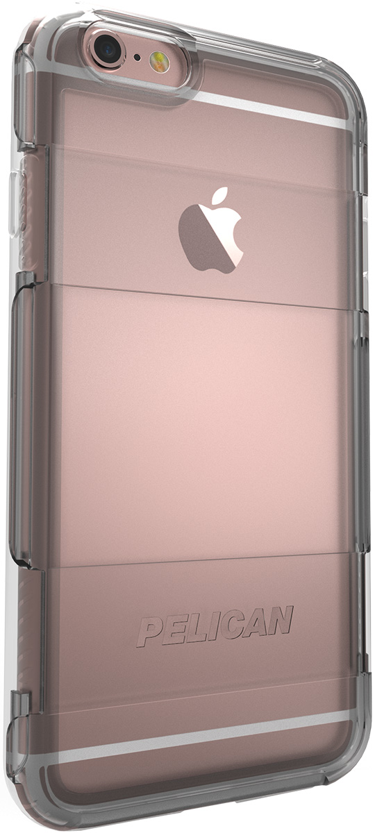 pelican adventurer apple iphone case 6s plus c02100 clear