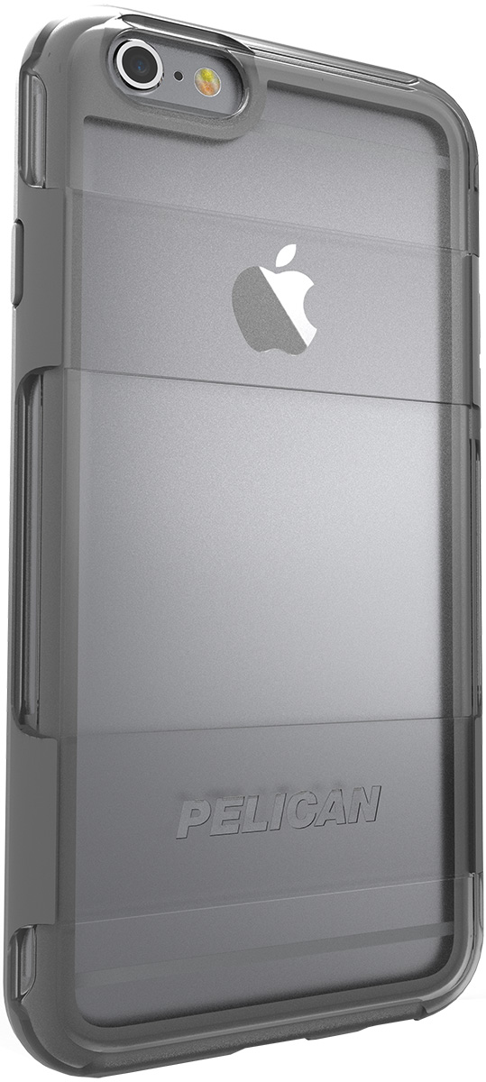 pelican adventurer apple iphone 6s case c02100 gray clear