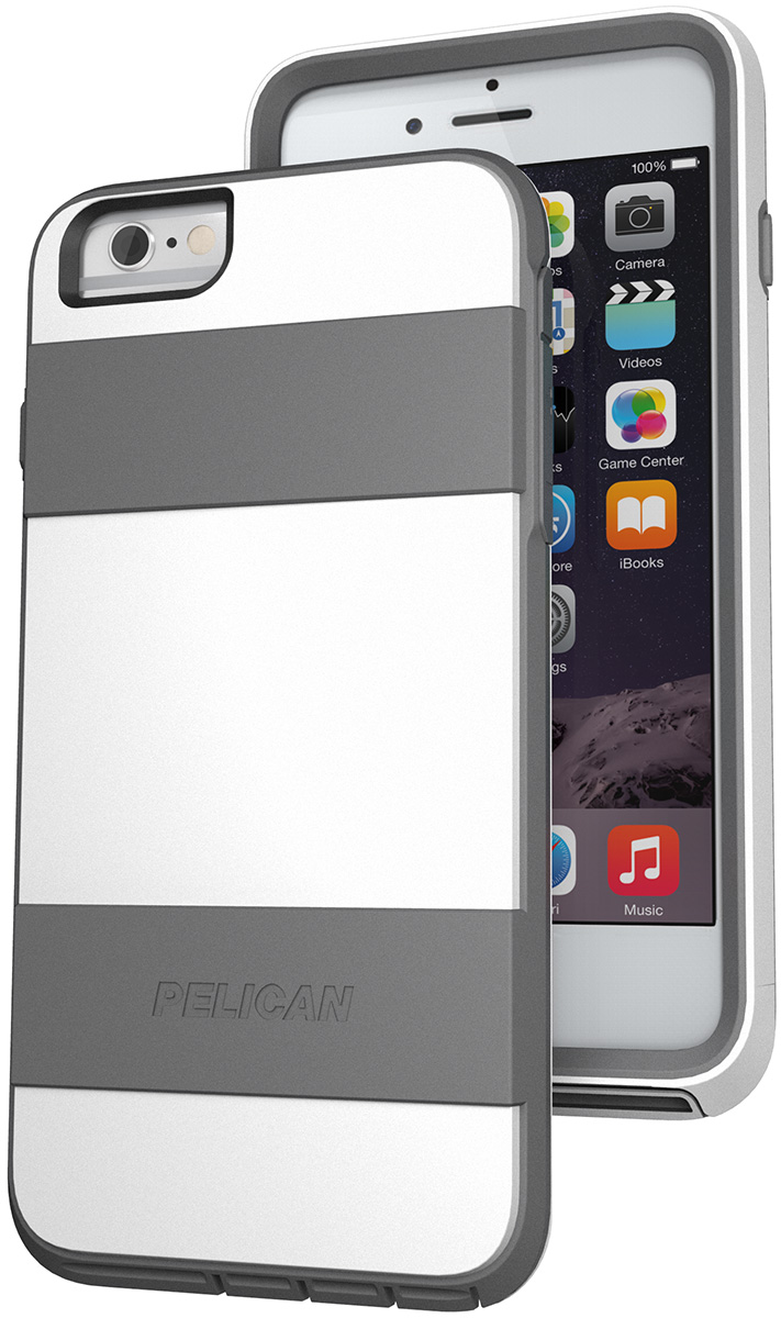 pelican peli products C07030 white iphone 6 plus protective case
