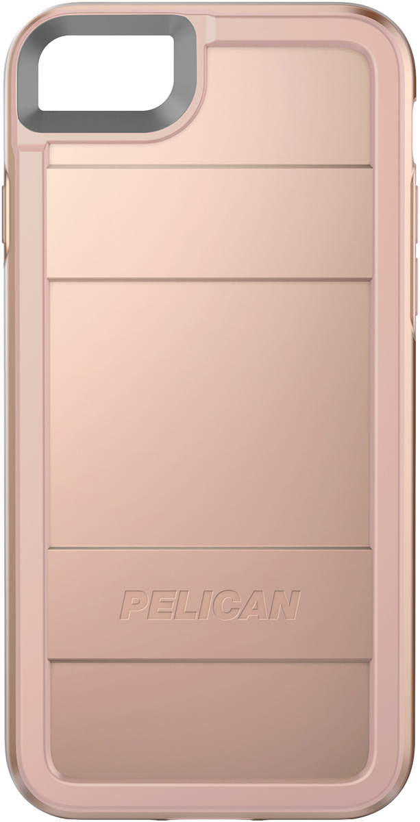 pelican protector iphone 7 8 phone case c23000 pink gray