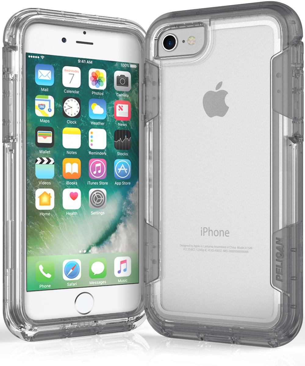pelican c23030 iphone 7 celar phone case voyager