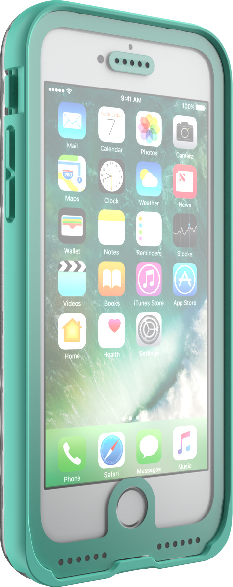 pelican c23040 clear water proof iphone 7 case