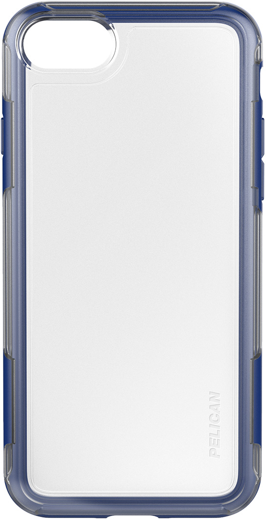 pelican c23100 clear blue iphone case adventurer