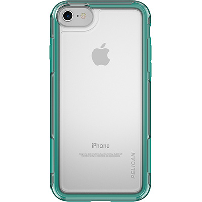 pelican c23100 clear iphone 7 case green cases