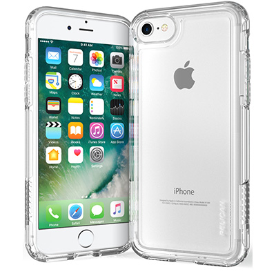 pelican c23100 clear iphone 7 phone case adventurer