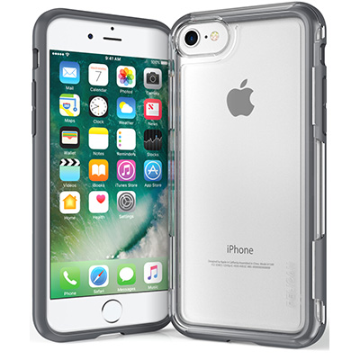 pelican c23100 grey iphone 7 case clear adventurer