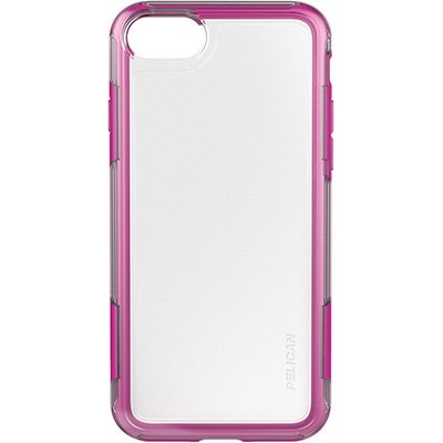 pelucan clear pink iphone 7 case adventurer