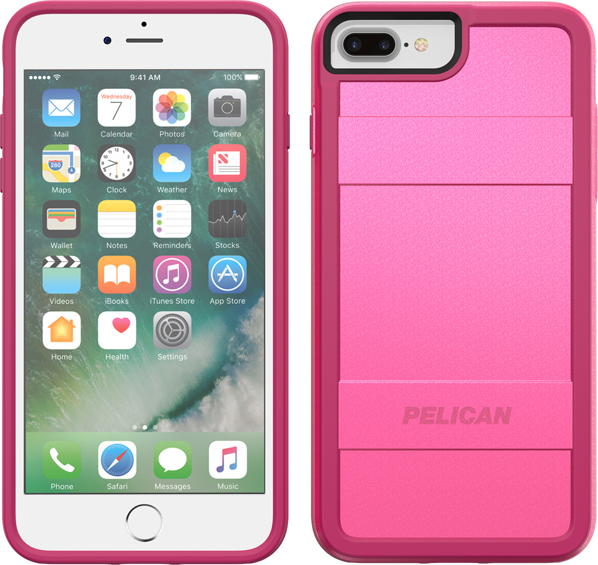 pelican c24000 iphone 7 plus cases pink phone case