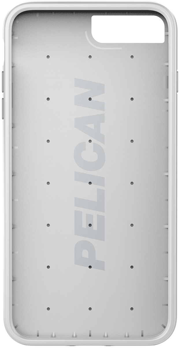 pelican c24000 iphone7s plus silver tough case