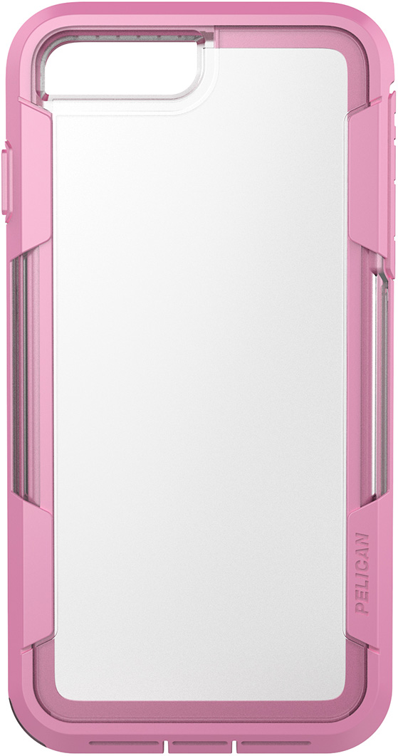 pelican c24030 clear pink iphone 7 plus case