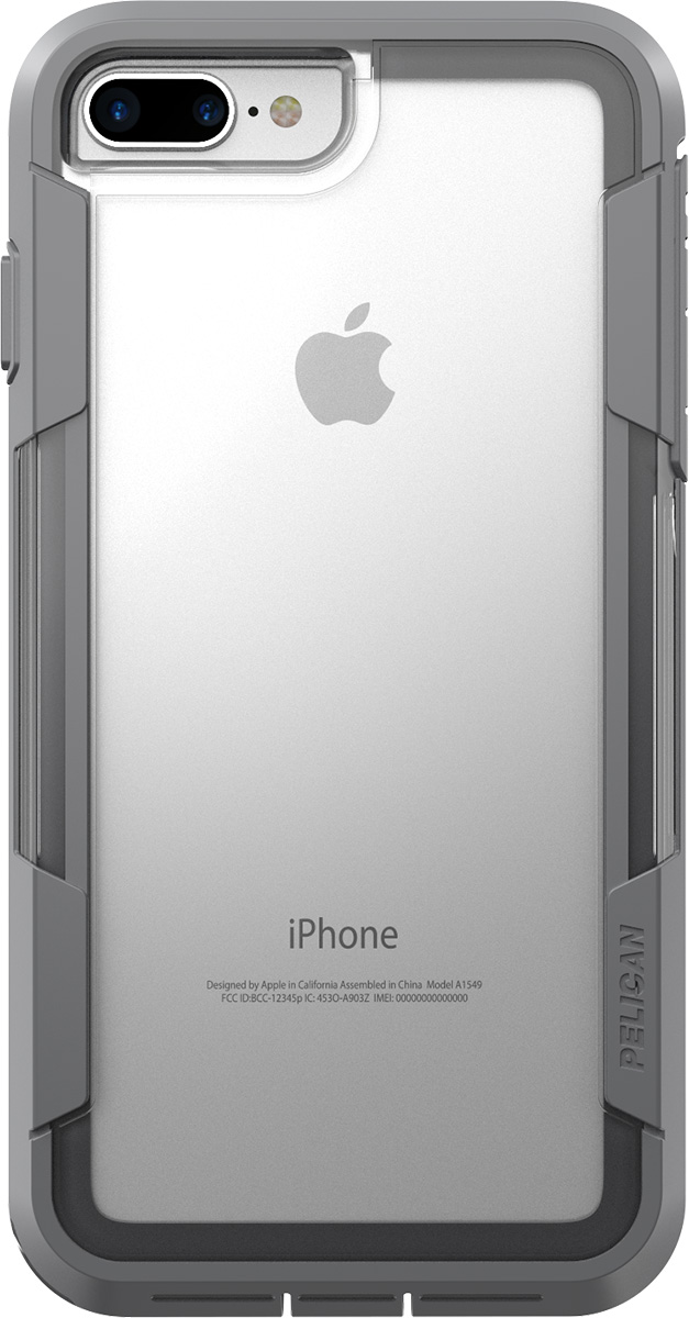 pelican c24030 iphone 7 plus voyager case clear