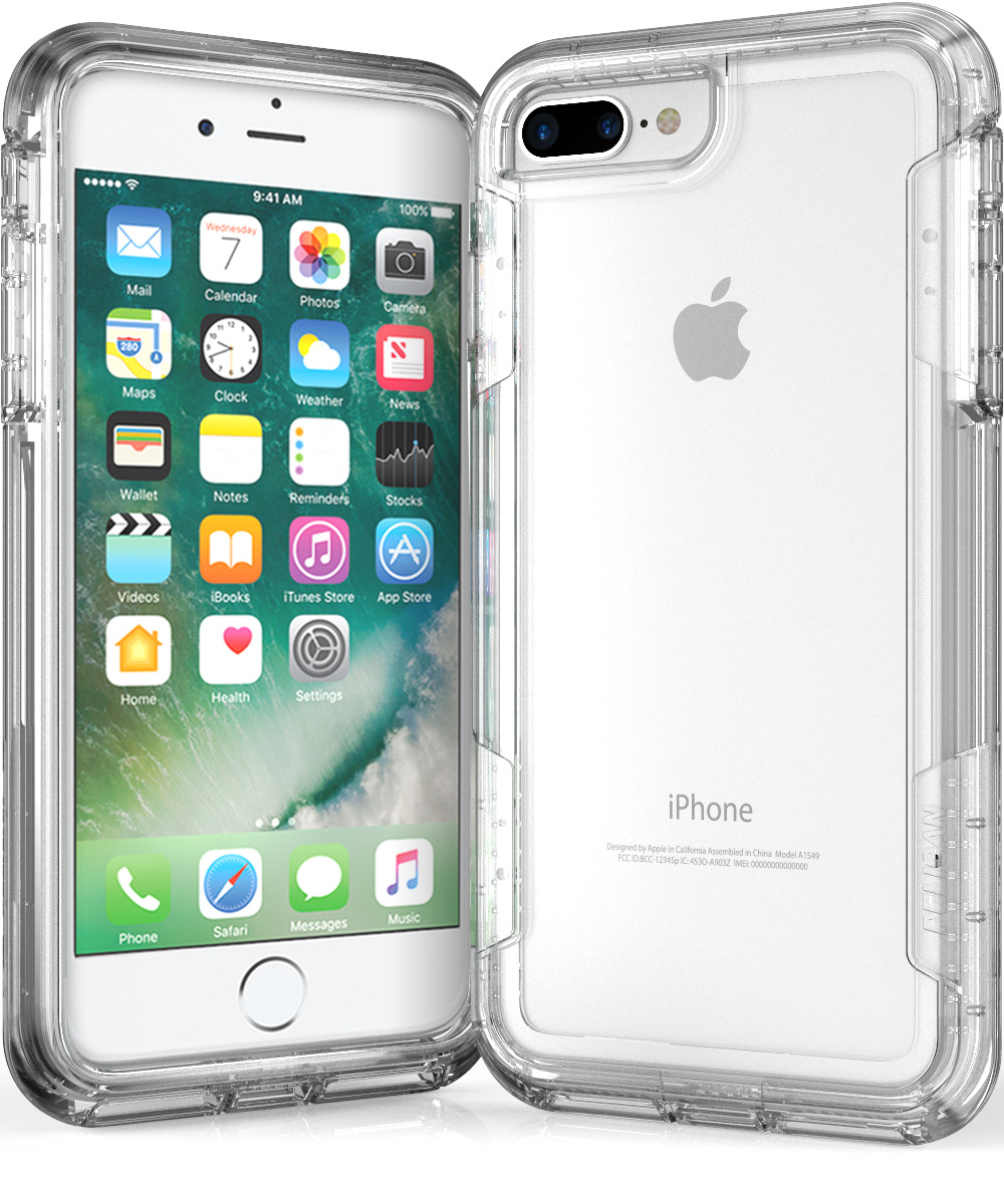 pelican c24030 iphone 7 plus clear case 8945ac504
