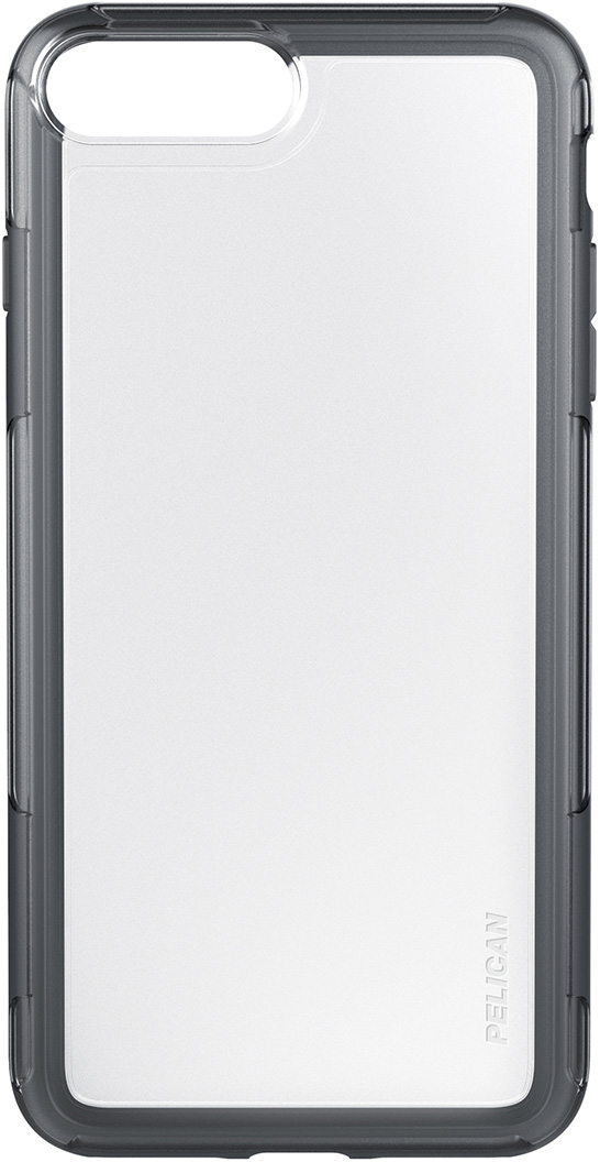 pelican c24100 clear grey iphone plus phone case