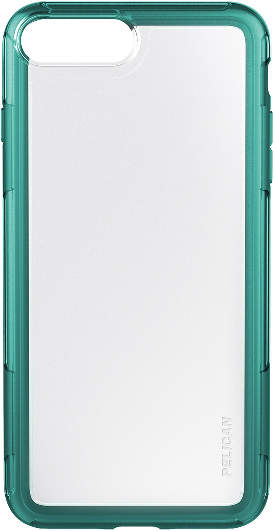 pelican c24100 clear teal green iphone plus case