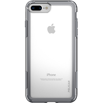 pelican c24100 grey clear iphone 7 case adventurer