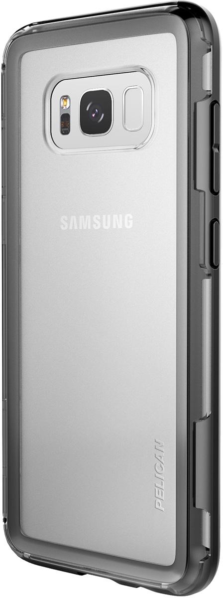 pelican c29100 clear black phone case galaxy s8
