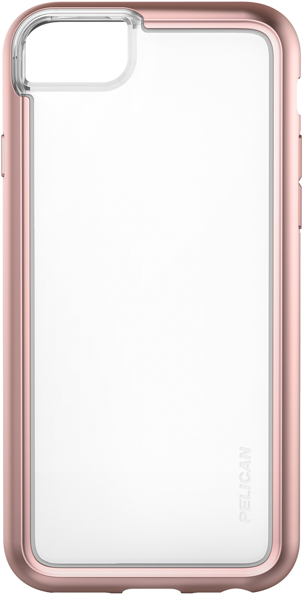 pelican c35100 iphone 7s phone case pink clear