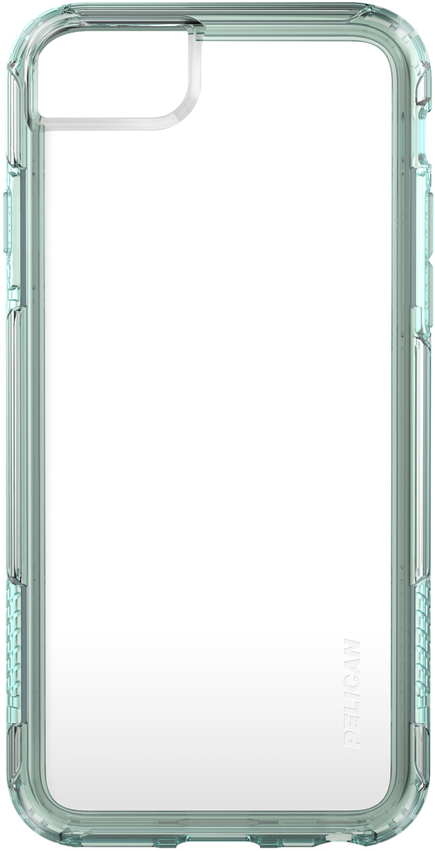 pelican c35100 iphone 8 clear green phone case