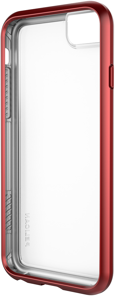 pelican c35100 iphone8 adventurer red protection case