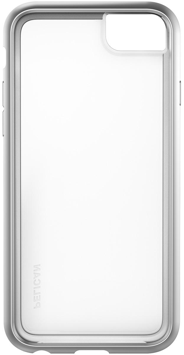 pelican c35100 iphone8 silver case