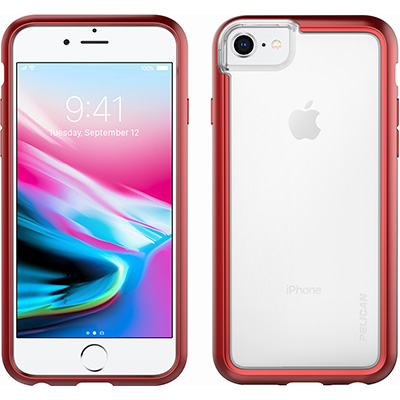 pelican c35100 red iphone 8 case adventurer cases