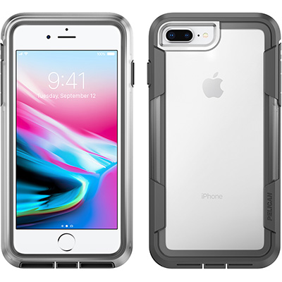 pelican c36030 clear phone case iphone 8 plus